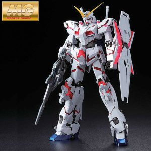 1/100 MG Unicorn Gundam Red/Green Frame Edition Titanium Finish ver.